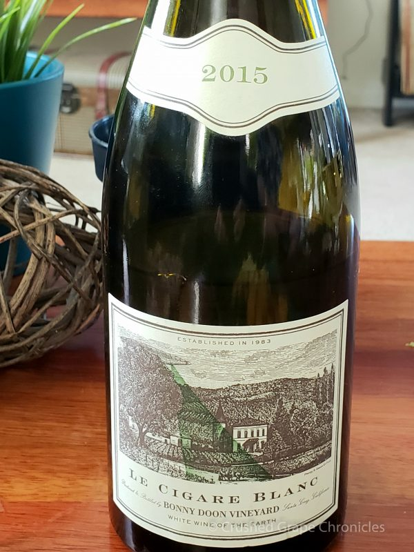 Le Cigare Volant Blanc 2015 from Bonny Doon