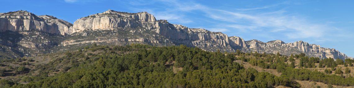 Serra del Montsant in the Priorat, Tarragona, Catalonia, Spain.