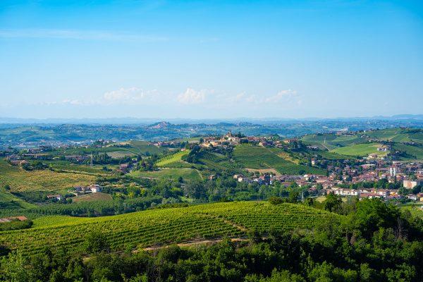 Castiglione Tinella town, Langhe monferrato wine region, Piemonte Italy (photo by photomaticstudio Adobe Stock)