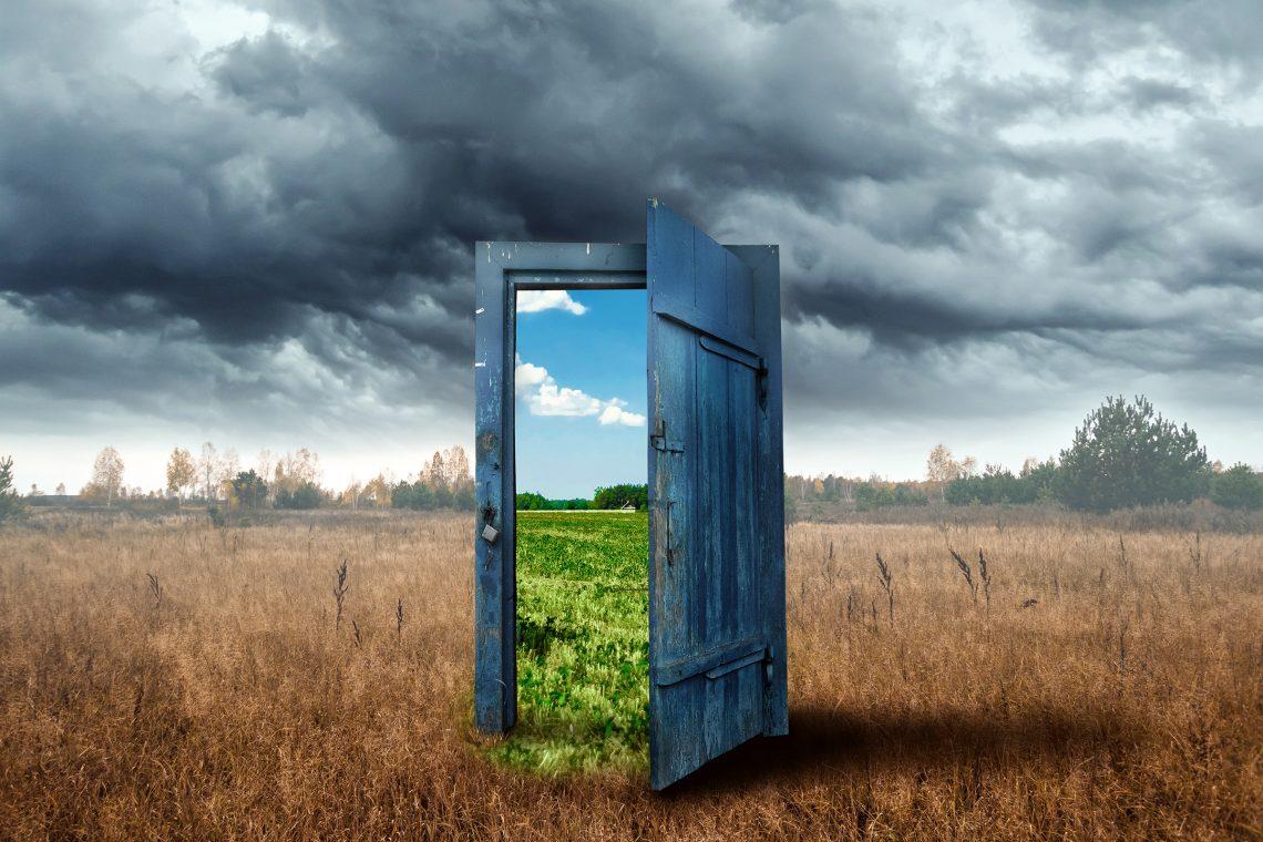 The concept of climate change porta lmagic