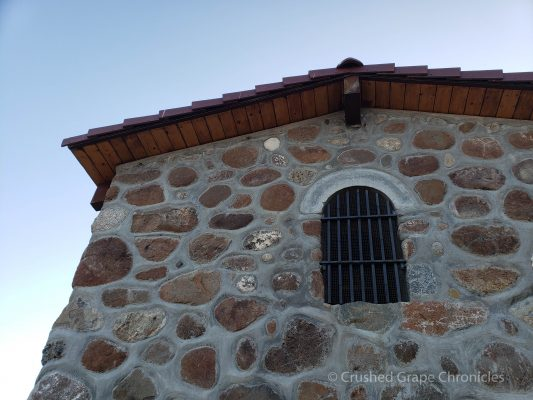 Shot of the chapel on Red Willow Vineyards in Yakima Valley AVA in Washington State