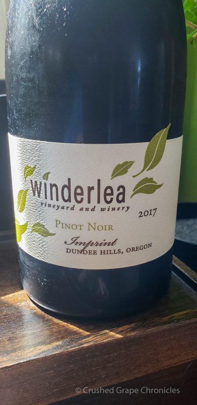 2017 Winderlea Imprint Pinot Noir, Dundee Hills