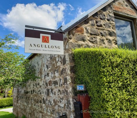 Angullong Cellars in their historic bluestone stable in Millthorpe NSW, Australia