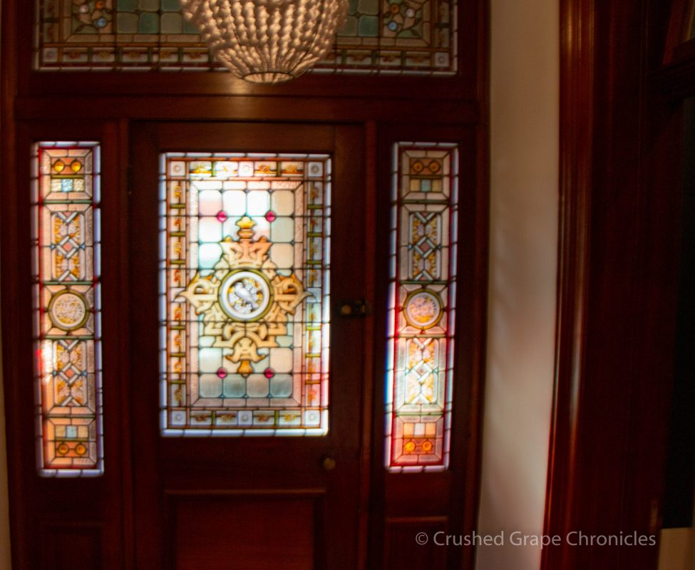 These beautiful stained glass windows are found in the historic Heritage wing of the Byng Street Boutique Hotel in Orange, NSW Australia