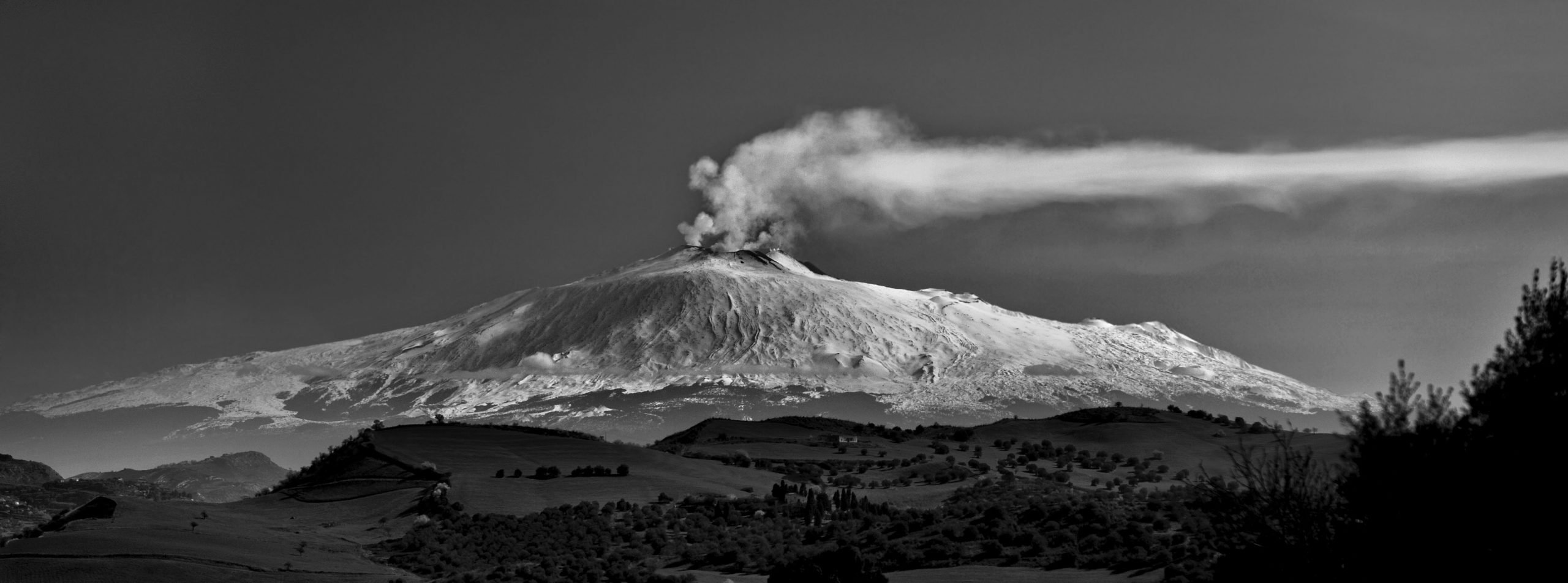 Mount Etna in Sicily photo credit rosdemora Adobe stock