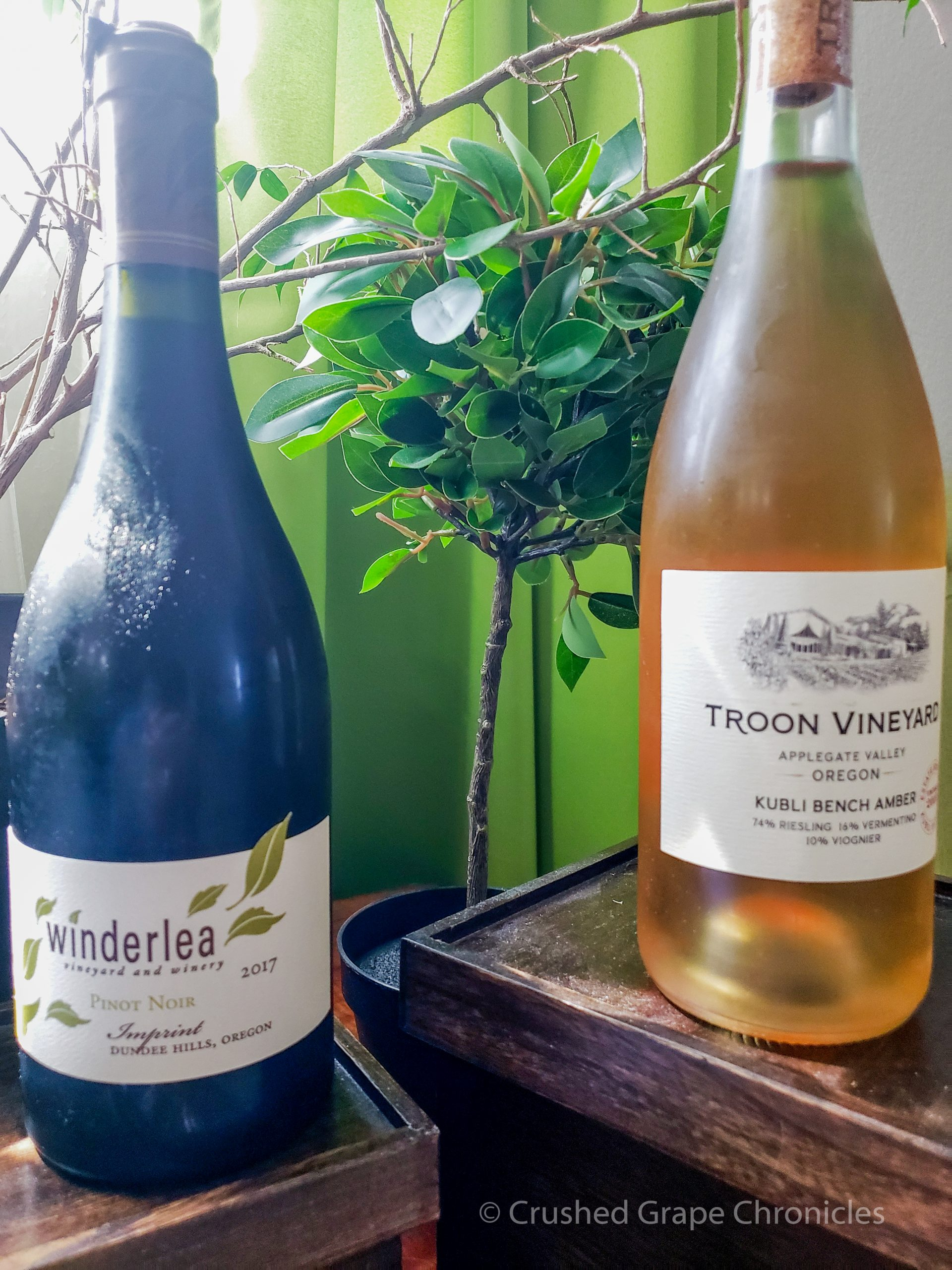 Oregon Wine Board Tasting with Troon & Winderlea