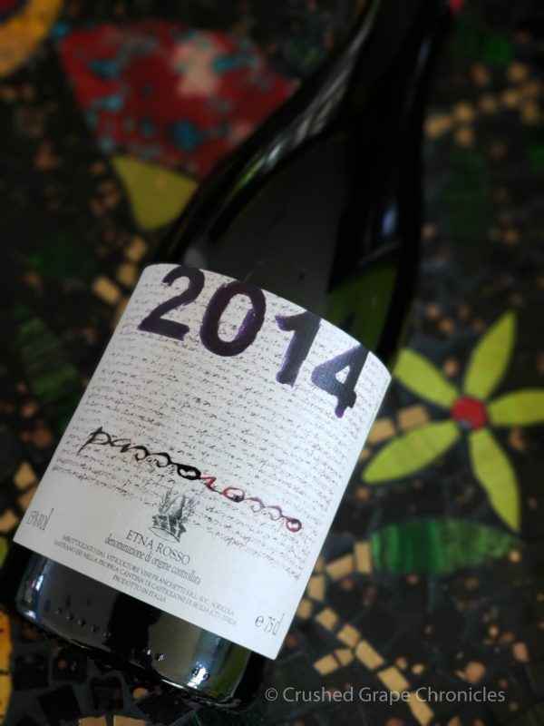 Passopisciaro 2014 Passorosso Etna DOC made of Nerello Mascalese from Mount Etna