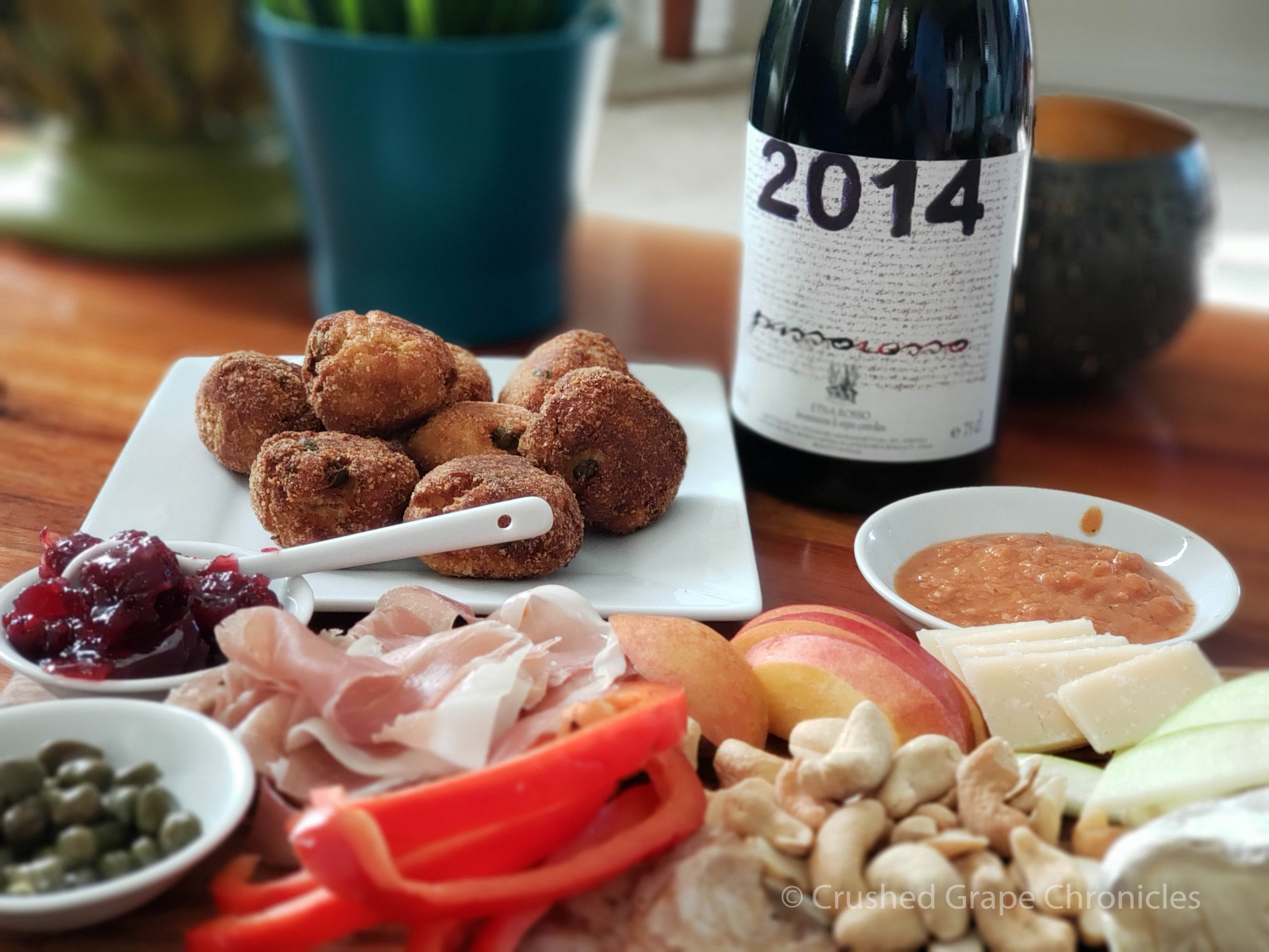 Passorossa 2014 from Mount Etna and a selection of pairings