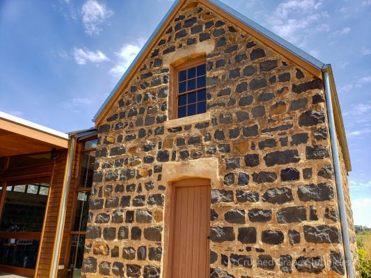 Many of the buildings on the historic Philip Shaw property are made of bluestone Orange NSW Australia