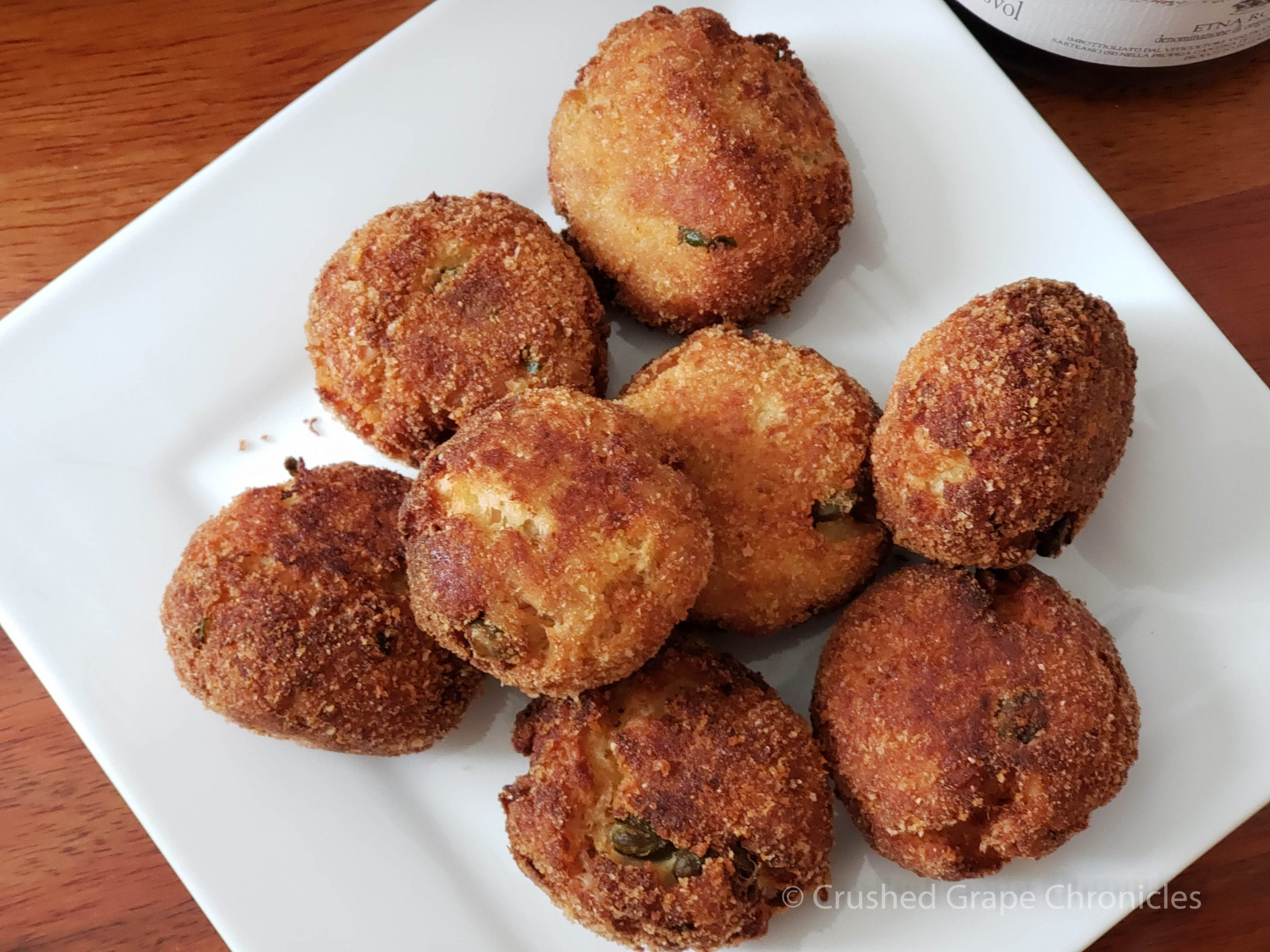 Polpette di tonno - Fried Tuna balls