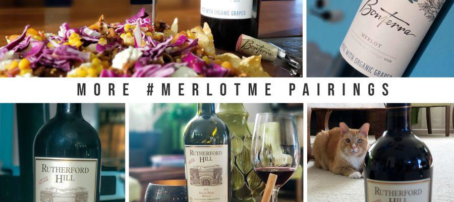 Bonterra 2018 Merlot & Rutherford Hills 2017 Merlot for #MerlotMe