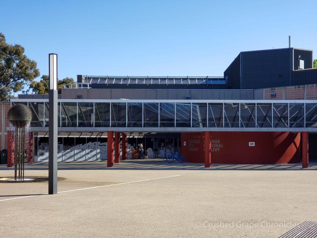 The Orange Regional Gallery in Orange, NSW Australia