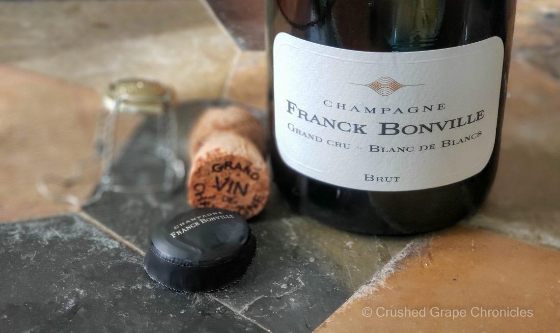 Franck Bonville Champagne cork, muselet and foil