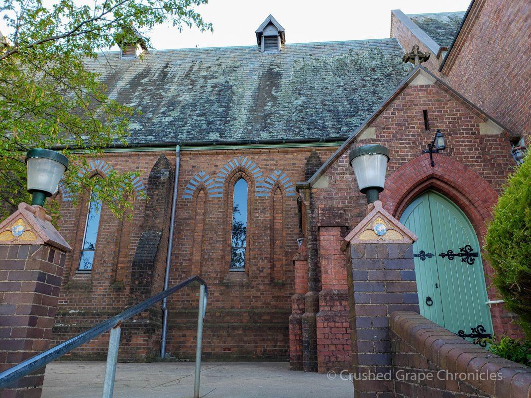 Historic church on Byng Street in Orange, NSW Australia