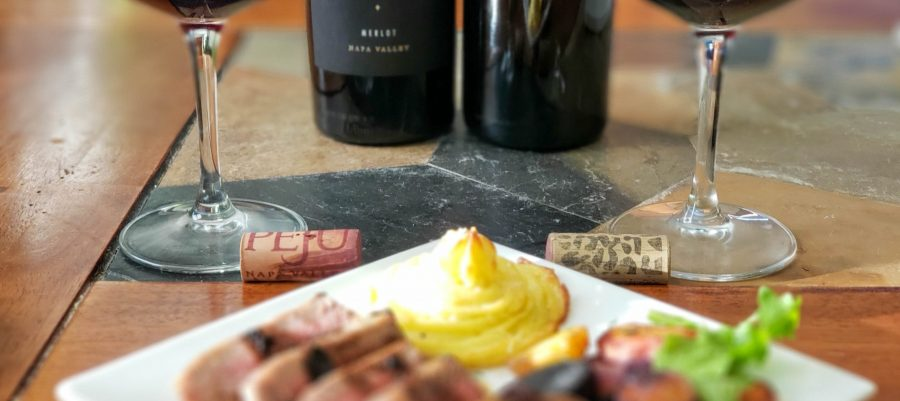 Pairing with Merlots from Peju and LaZarre