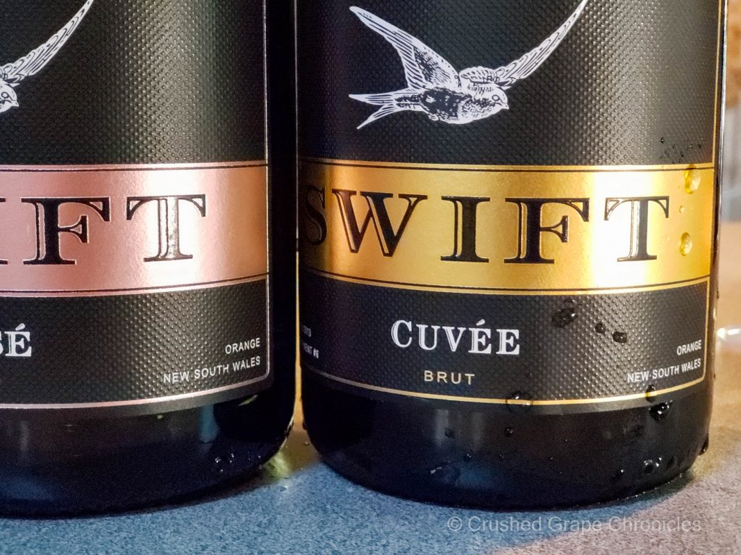 The Swift NV Cuveé from Sparkling wine from Printhie in Orange NSW Australia