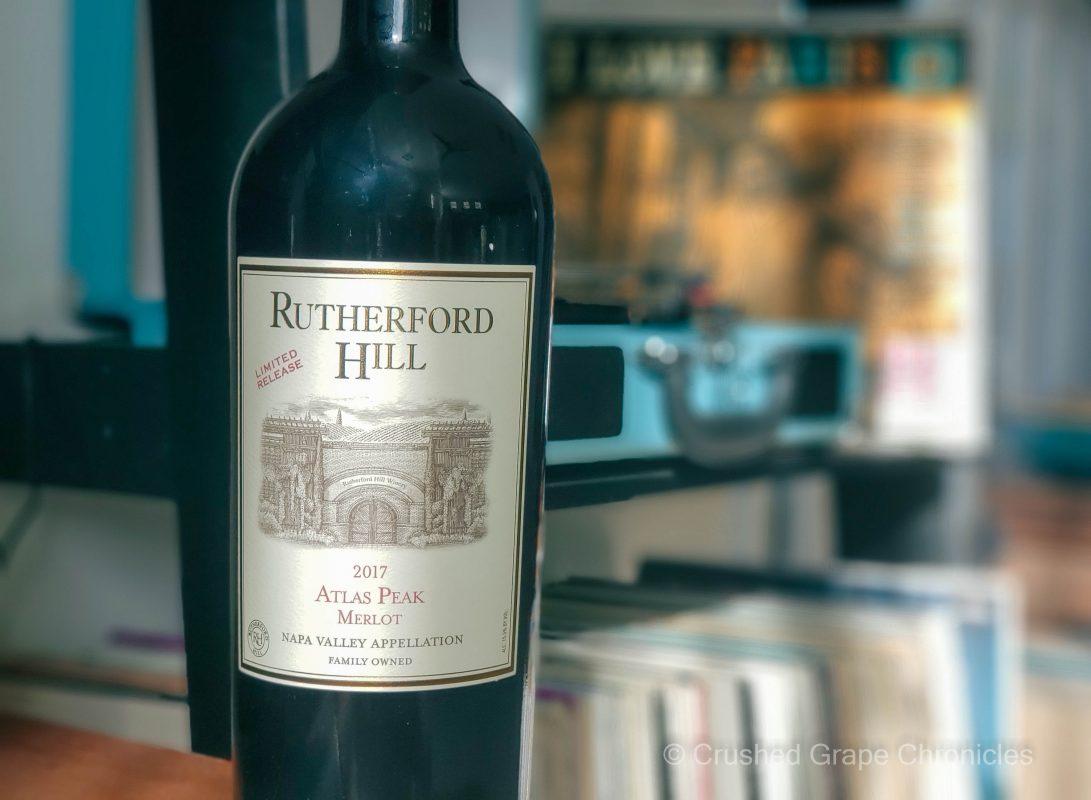 Rutherford Hill 2017 Atlas Peak Merlot