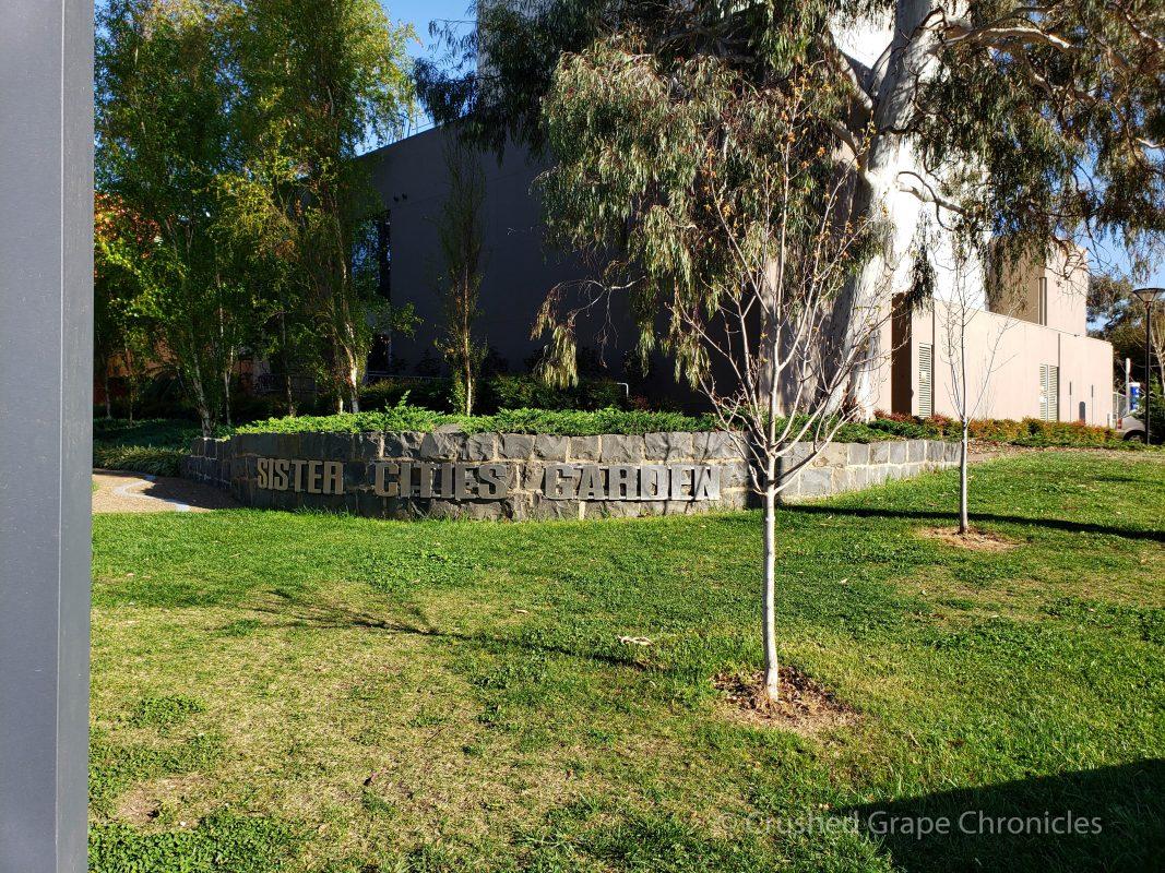 Sister city gardens Byng Street in Orange, NSW Australia