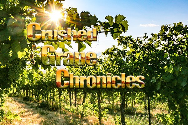 Crushed Grape Chronicles, exploring grapes from Dirt to Glass