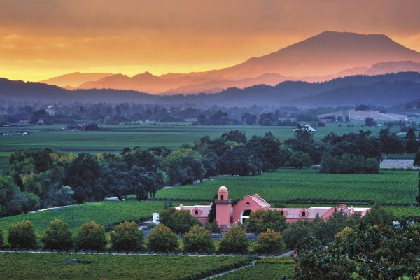 The Groth Estate in Napa's Oakville AVA - Photo courtesy Groth Vineyards and Winery