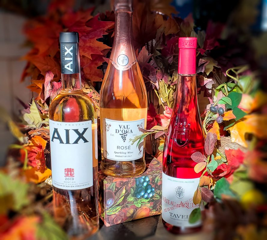 Rethink Pink with some Turkey Day Rosé Thanksgiving 2020