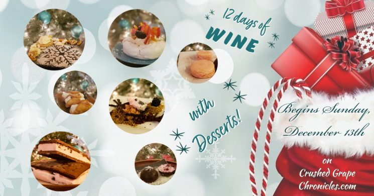 Crushed Grape Chronicles 12 Days of Wine 2020
