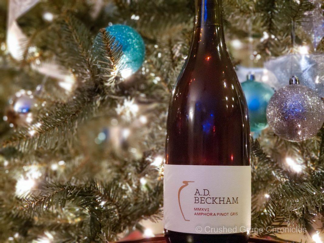 AD Beckham 2016 Amphorae Pinot Gris