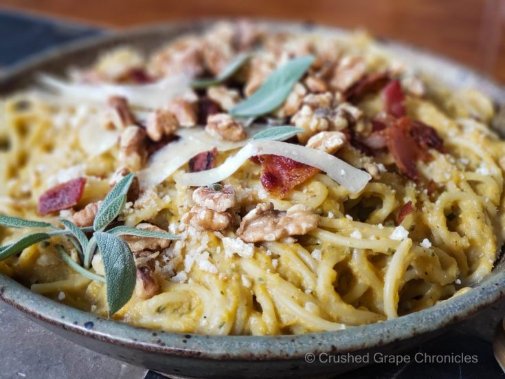 Bacon butternut pasta scaled