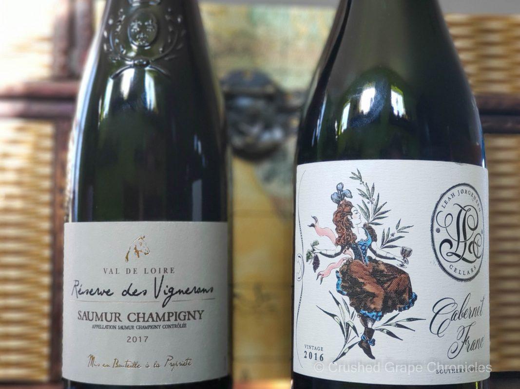 Cabernet Francs Reserve des Vignerons Saumur Champigny and Leah Jørgensen from Southern Oregon