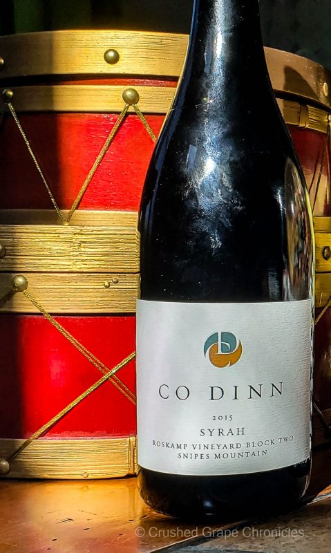 Co Dinn 2015 Roskamp Syrah