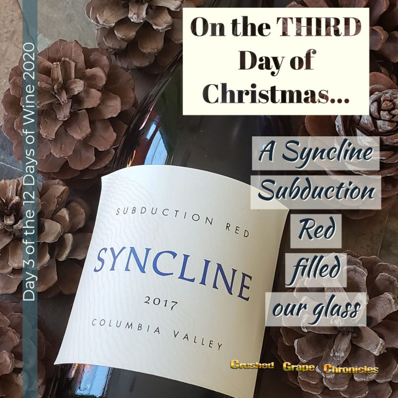 on the Third Day of Christmas, My true love gave to me, Day 3 Syncline Subduction