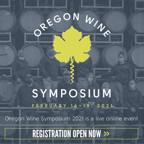 Oregon Wine Symposium Feb 16-19 2021 wine and food industry events