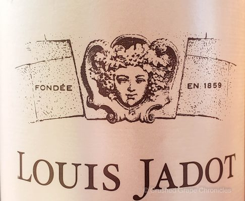 Label and logo of Maison Louis Jadot