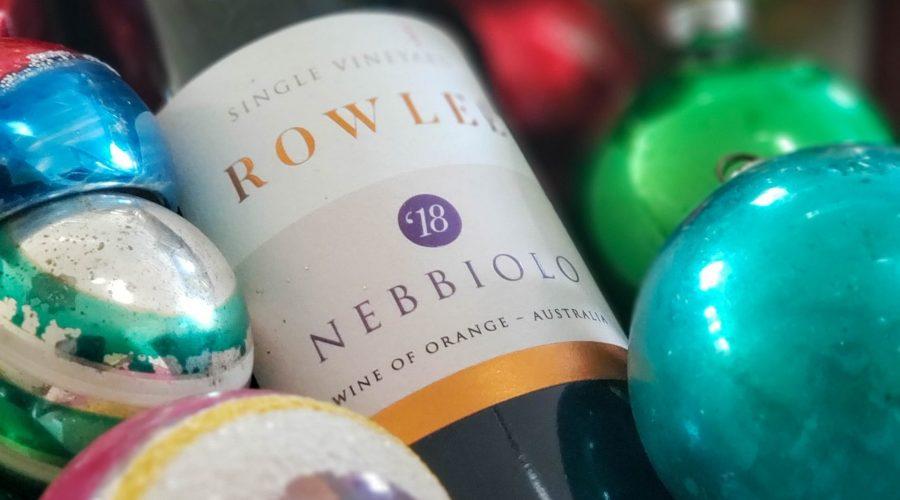 2018 Rowlee Nebbiolo from Orange NSW Australia