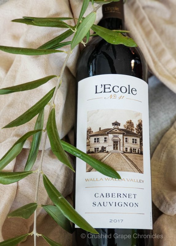 LEcole No 41 2017 Walla Walla Cabernet Sauvignon bottle shot
