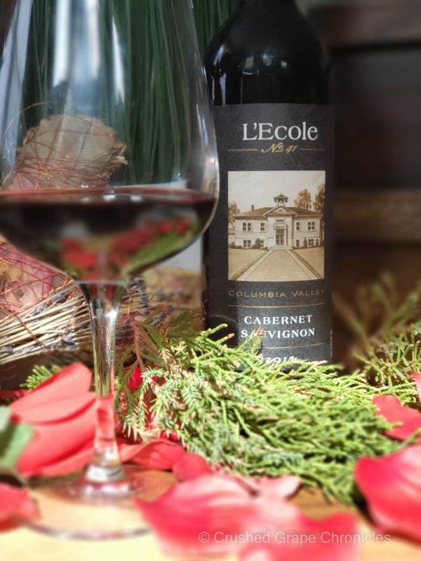 L'Ecole No. 41 2017 Columbia Valley Cabernet Sauvignon for Valentine's Day