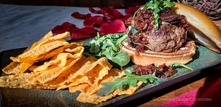 LEcole Valentine Day Burger Mushroom Bacon Jam and Blue Cheese 134641