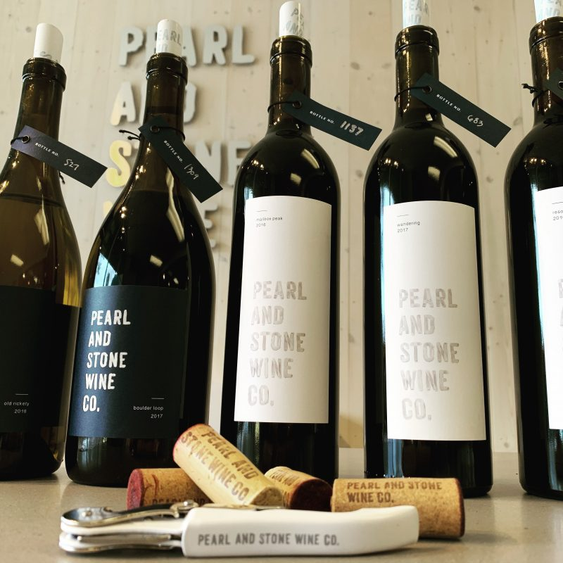 The Pearl and Stone Co. Tasting Room in downtown North Bend Washington