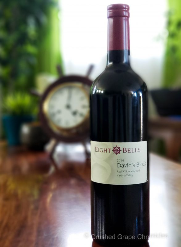 Eight Bells David's Block 2014 from the Yakima Valley