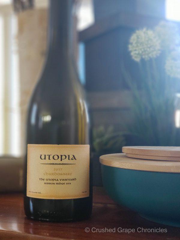 Utopia 2017 Estate Chardonnay Ribbon Ridge AVA