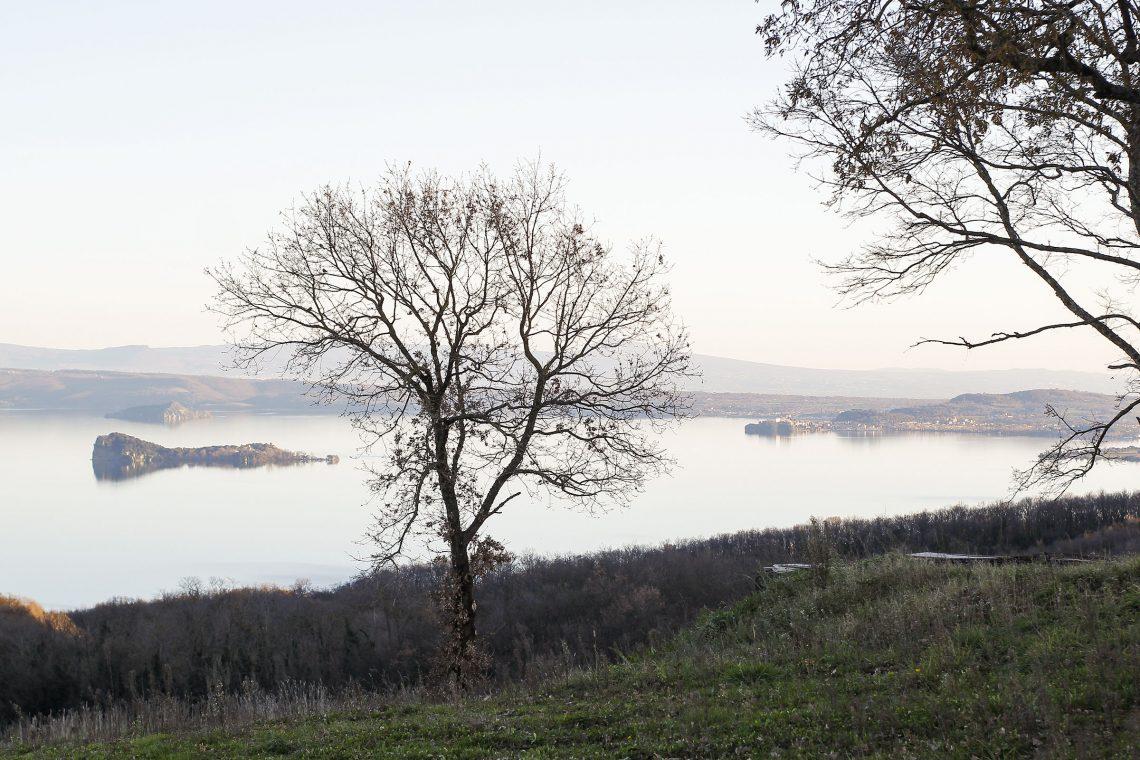 View of Lake Bolsena from Gradoli City, Lazio Italy (photo Adobe Stock by Andre