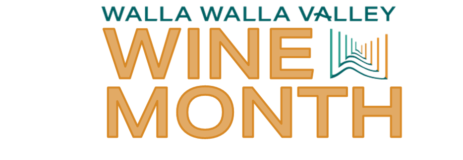 Walla Walla Valley Wine Month logo courtesy Walla Walla Valley Wine Alliance