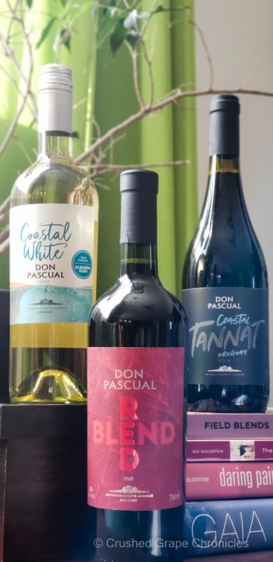 Don Pascual wines for Uruguay Wine Week from Establecimiento Juanico and Familia Deicas