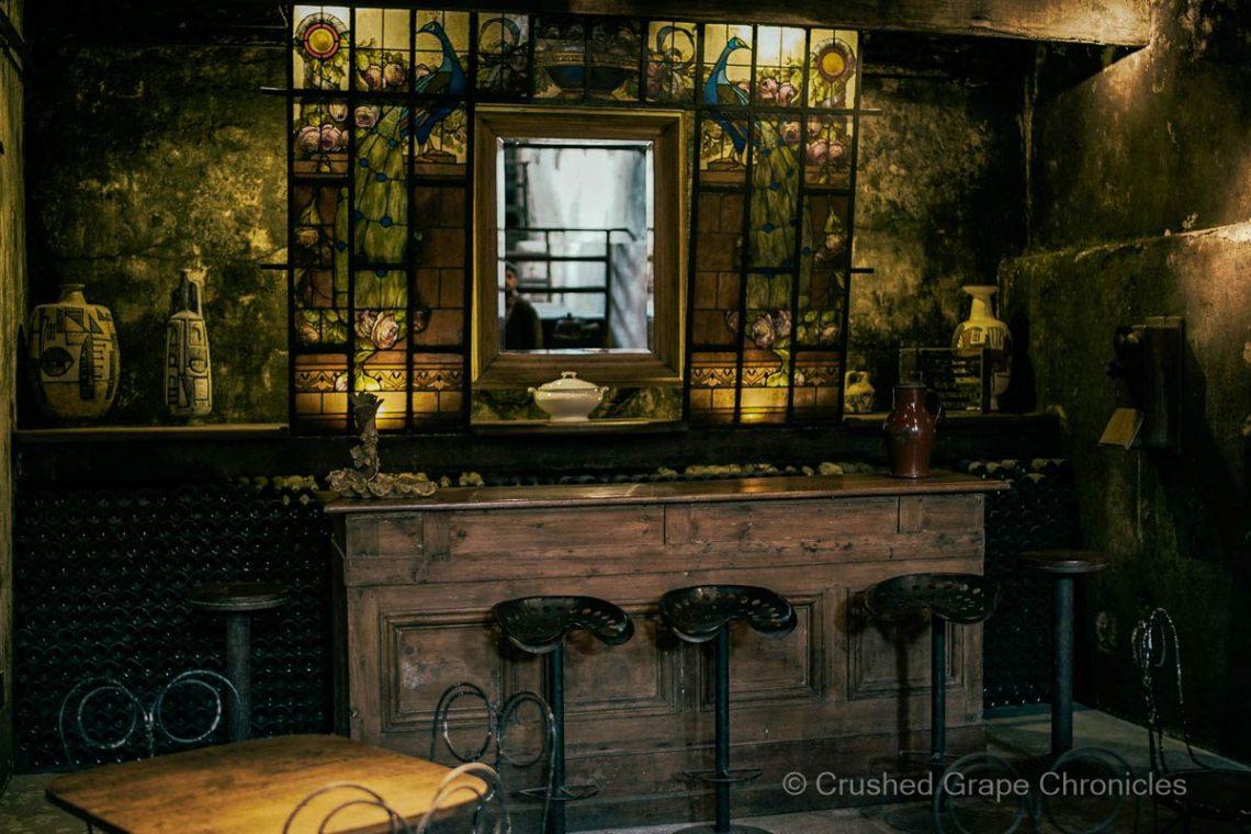 Tasting in the cellar at Establecimiento Juanico in Uruguay Photo courtesy Establecimiento Juanico