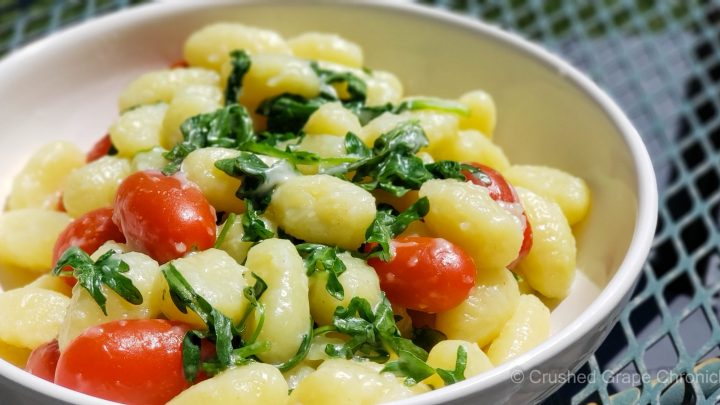 Noquis (gnocchi). Traditionally served in Uruguay on the 29th of each month