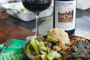 L'Ecole No. 41 2018 Seven Hills Vineyard Syrah and a Hawaiian Feast