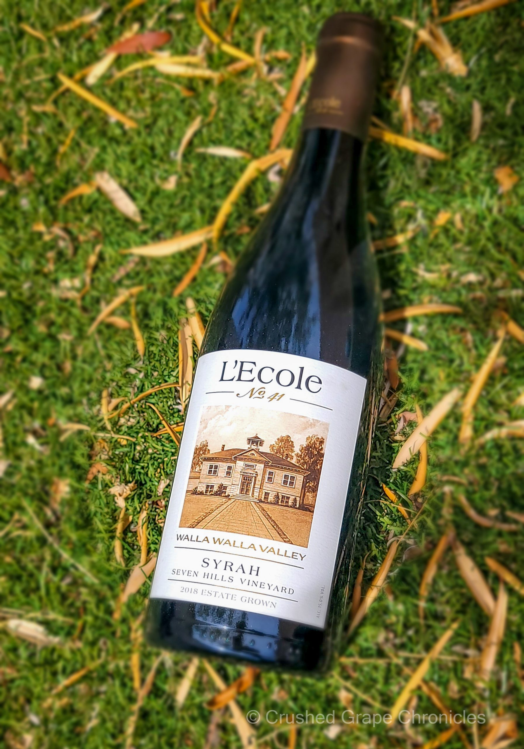 2018 L'Ecole No. 41 Syrah Estate Seven Hills Vineyard