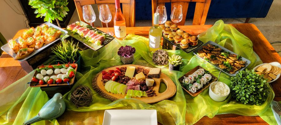Small plate celebration with Scheid Family Wines