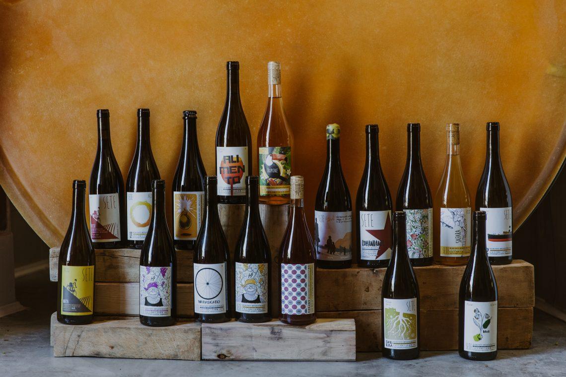 Vini - all the wines at SETE Picture Courtesy of Azienda Agricola SETE Priverno LT Lazio