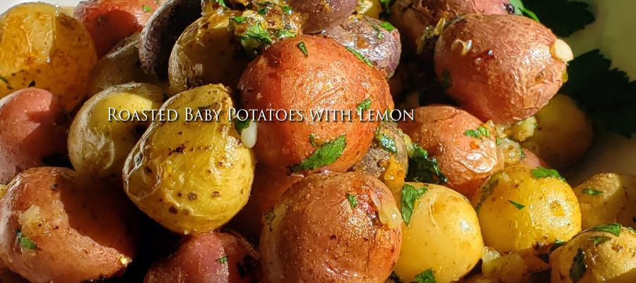 Roasted Baby Potatoes with Lemon
